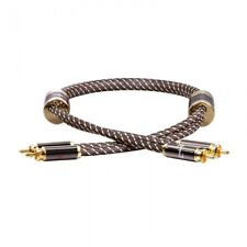 Dynavox Black Line High End Cinchkabel Stereo 0,6 m (99,9999% OFC) 207479