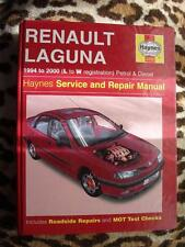 Haynes Workshop Manual Renault laguna 94-00 Petrol & Diesel Hatchback Models