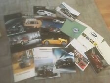 COLLECTION OF CAR   BROCHURES x 14    SEE PHOTOS FOR WHAT IS INCLUDED