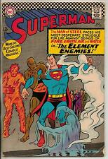 DC Comics Superman #190 October 1966 VG