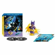 New: THE LEGO BATMAN MOVIE - Blu-ray + DVD + Bonus Mini Batgirl & Postcards