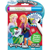 Frozen 2 16-Page Imagine Ink Magic Pictures Activity Book - Great Gift Idea NEW