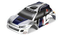 Losi LOSB1794 1/24 4WD Micro Rally Painted Body Silver/Blue