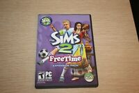 THE SIMS 2 Freetime Expansion Pack w/ Product Key Complete PC CD-ROM
