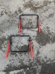 Bike Folding Storage Rack Wall Mounted Hooks Shed Garage Bicycle Hanger Holder