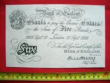 More details for £5 white fiver five pound bank note ealing studios - ealing comedies 1947 to 58
