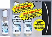 (8+2) 10 oz of PREMIUM 100% silicone Treadmill belt lubricant Lube maintenance