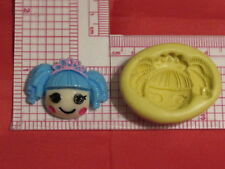 lalaloopsy head Silicone Mold #65 For Chocolate Candy Resin Fimo Soap Candle