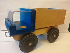 Vintage Creative Playthings Wooden Dump Truck