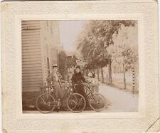 VINTAGE BICYCLES ~ 2 LADIES ~ GREAT RIDING CLOTHES ~ c. - 1890