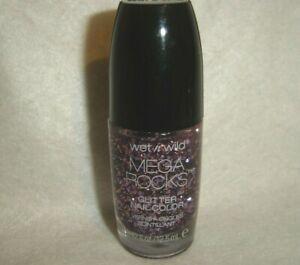 wet n wild***MEGA ROCKS***GLITTER Nail Color #498 AT WILL CALL~~0.42 fl oz~~NEW