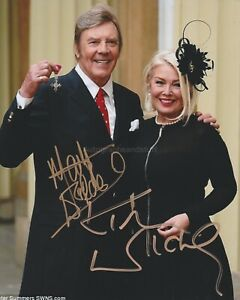 Marty Wilde & Kim Wilde HAND SIGNED 8x10 Photo Autograph Teenager In Love Kids
