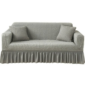 Elastic Stretch Sofa Cover 1 2 3 4 Seater Slipcover Spandex Couch Protector New