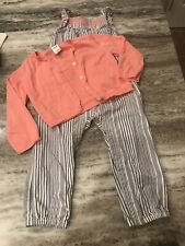 2 Piece Baby Girl Outfit / Jumper And Cardigan / 24mo New