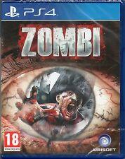 Zombi ps4 GIOCO (Zombie) ~ nuovi/sigillati