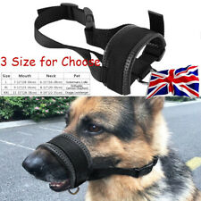 More details for dog nylon adjustable mask bark bite soft mouth muzzle grooming stop chewing new