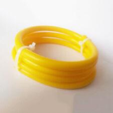 "Yellow ID:6mm (1/4"") Silicone Vacuum Hose Intercooler Coupler Pipe Turbo 1 meter"