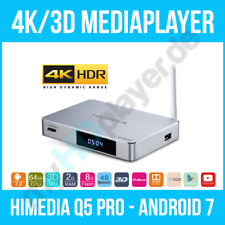 HIMEDIA™ Q5 PRO 4K (Ultra HD) & 3D Mediaplayer Android 7 Smart TV Box/Mini PC