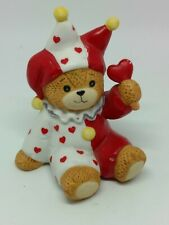 Vintage Lucy & Me Bear-Enesco-1984 Jester With Heart Wand - L87