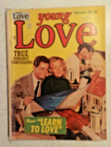 Young Love #30 ! PRIZE 1952 ! JACK KIRBY ! MORT MESKIN ! NICE PAGES ! hayfamzone