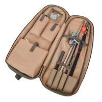 """29.5"""" Waterproof Fishing Rod Reel Lure Storage Bag Tackle Gear Tool Carrier Case"""