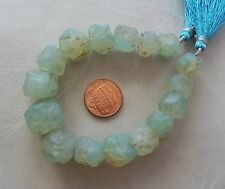 "7.5"" Strand Sea Green Onyx Gemstone Chunky Tumbled Rough Nugget Beads 12mm-18mm"