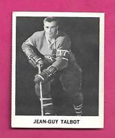 RARE 1965-66 COCA COLA CANADIENS JEAN GUY TALBOT  CARD (INV# C9706)