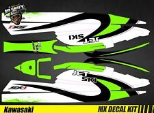 Kit Déco pour / Decal Kit for Jet Ski Kawasaki 750 Sx Sxr Sxi - Wave