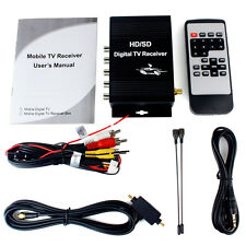 Car Mobile Display ATSC Digital terrestrial Receiver with 4 Video HD/SD TV Tuner