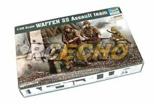 TRUMPETER Military Model 1/35 WAFFEN SS Assault team Scale Hobby 00405 P0405