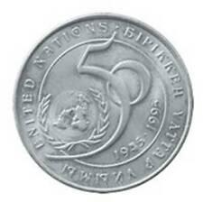 Kasachstan Kazakhstan 20 tenge 50 years of UNO United Nations 1995