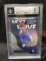 Luka Doncic 2018-19 Panini Threads Next Wave Rookie Dazzle BGS 9 Mint C06