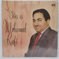 This Is Mohamad Rafi LP Record Bollywood Hindi Film Song Rare Vinyl 1969 Indian