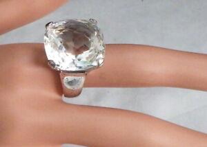 SWAROVSKI BEUTIFUL FACETED RING SIZE 8 1/4