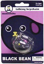 Mameshiba Black Bean Kuromame English Language Talking Keychain