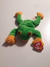 Ty Beanie Babies Smoochy The Frog Mwmt