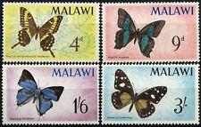 Malawi 1966 SG#'247-250 Butterflies MNH Set #D58832