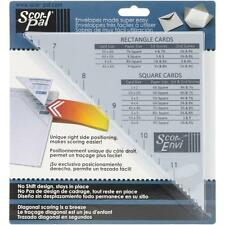 Scor-Pal Scor-Envi Diagonal & Envelope Template works with Scoring Board