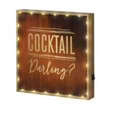 COCKTAIL DARLING? LIGHT-UP SIGN