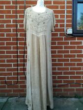 Vintage RAPP maxi dress embroidered hippy
