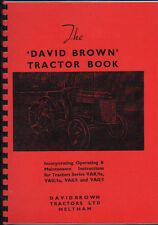 David Brown VAK/1a, VAG/1a, VAK/1 & VAG/1 Tractor Operator Instruction Book