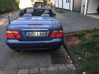 Mercedes 230 CLK Kompresor, Cabrio, erst 36 th km, Automatik, Klima, Tempomat,