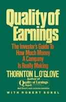 Quality of Earnings: By O'glove, Thornton L.