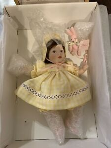 "Pauline's Limited Edition Dolls ""Ginny"" No. 379 Out Of 2600 New In Box With COA"