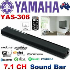 Yamaha YAS-306 Sound Bar with 7.1 Channel Surround Sound & 2x Inbuilt SUB Woofer