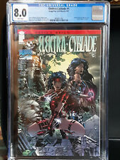 Elektra Cyblade 1 CGC 8.0 VF  White pages - David Finch - Top Cow