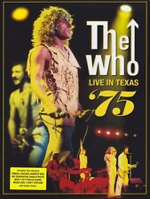 THE WHO - LIVE IN TEXAS '75  DVD NEU