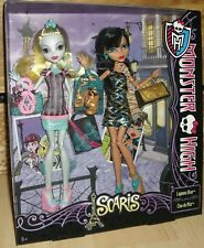 Monster High Scaris Lagoona Blue y Cleo de Nile rare!!! 2 muñecas en el set
