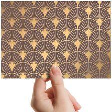 "Gold Deco Elegant Aztec - Small Photograph 6"" x 4"" Art Print Photo Gift #12761"