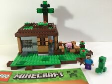 Lego Minecraft 21115 First Night 100% Complete W/ NEW Manual